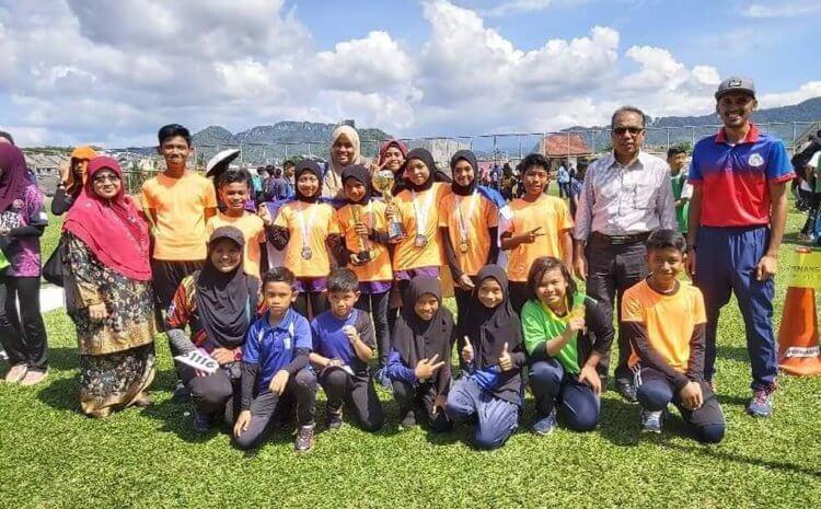 Pasukan Olahraga SKTM Johan Keseluruhan Perempuan Sekolah Rendah MSSD Keramat 2020