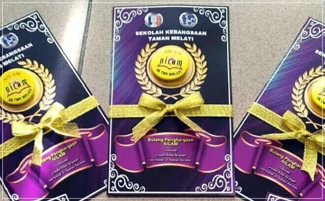 Penerima Butang Penghargaan NILAM (Top 3)